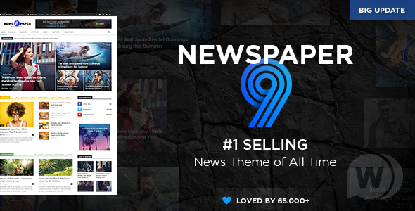 WordPress新闻主题模板 Newspaper v9.7.3 NULLED