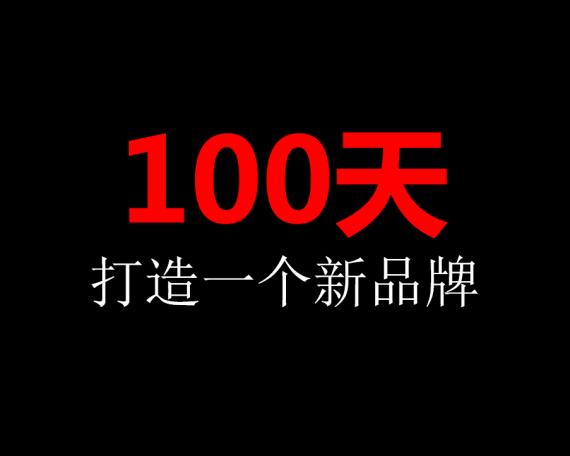 100天打造一个新品牌,3个步骤42个方法(实用PPT文件+EXCEL表格)