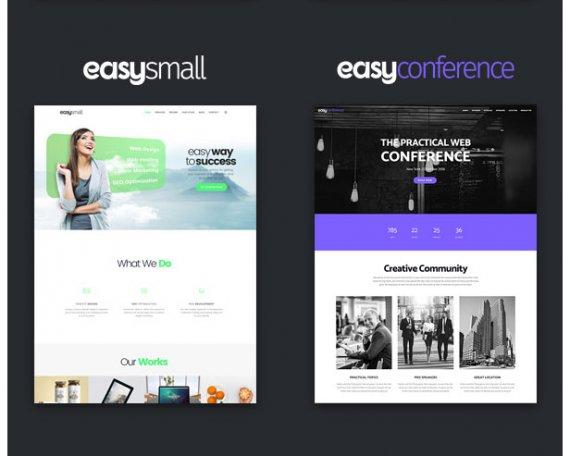 WordPress科技企业主题 EasyWeb服务器,SEO,建站,设计服务行业wordpress科技主题